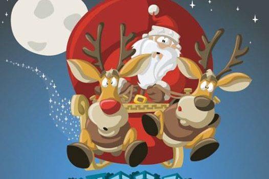 Video chiamata con Babbo Natale in Smart Working!